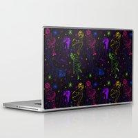 rockabilly Laptop & iPad Skins featuring Rockin' Rockabilly by Sophie Jewel