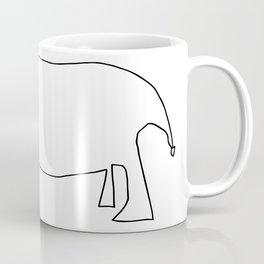 Line Rhino Coffee Mug