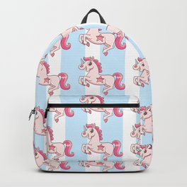 Unicorn with gold teeth Backpack