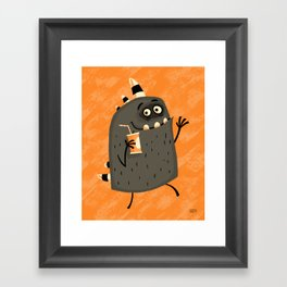 Fizzy Drink Framed Art Print