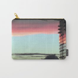 """Sunrise in the City"" Carry-All Pouch"