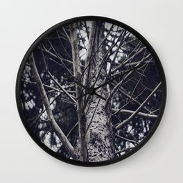 Grace Beneath The Pines II Wall Clock
