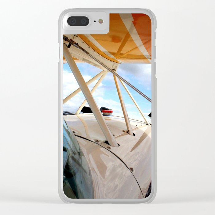 A Pilot's View Clear iPhone Case