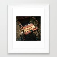 skate Framed Art Prints featuring Skate  by Katie Jean Images