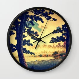 Kana in Autumn Wall Clock