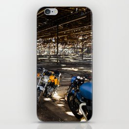 A Royal Enfield and A Triumph iPhone Skin