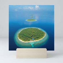 Island Tropical Sea Mini Art Print