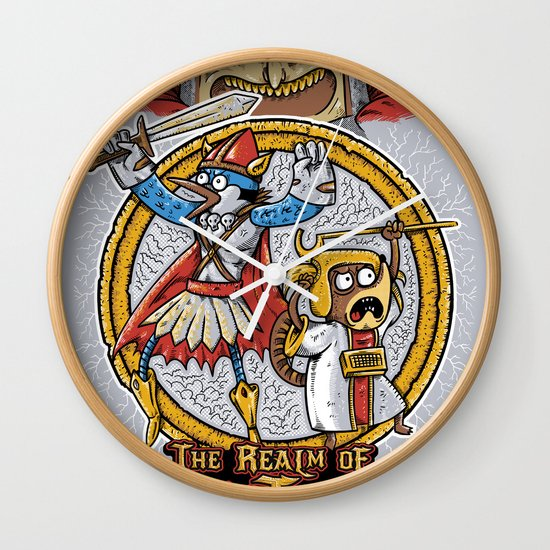 Regular Boardgame Wall Clock
