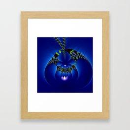 Secret of the night Framed Art Print