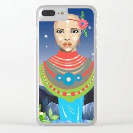 Maasai Clear iPhone Case