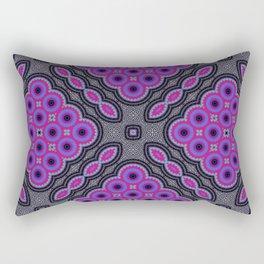 Cells Mosaic Pattern Rectangular Pillow