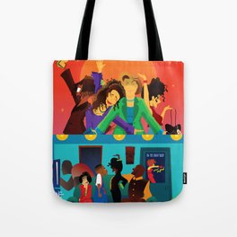 Living Single Followed by Martin Tote Bag