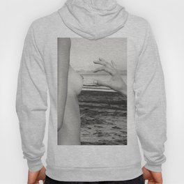 Lesbian Love at Sunrise on the beach Hoody