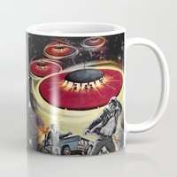 ufo Mugs featuring UFO by Keka Delso