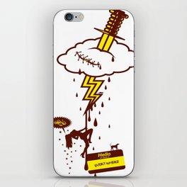 Thunderstruck iPhone Skin