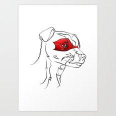 Heroes Helper Art Print