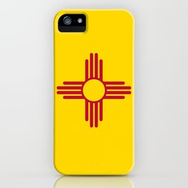 Flag of New Mexico - Authentic High Quality Image iPhone Case