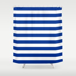 El Salvador honduras finland greece israel flag stripes Shower Curtain