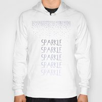 sparkle Hoodies featuring Sparkle by Zen and Chic