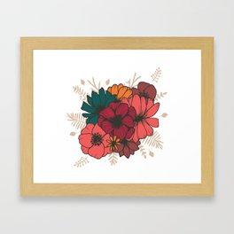 Bohemian Bouquet Framed Art Print