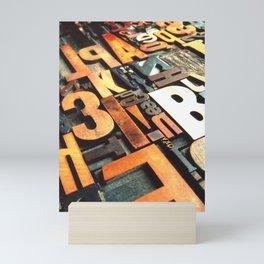3B - Typography Photography™ Mini Art Print
