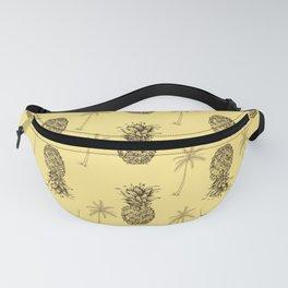 Retro Pineapple Pattern Fanny Pack