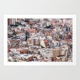 Barcelona Residential Art Print
