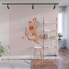 Naughty Cupid Wall Mural