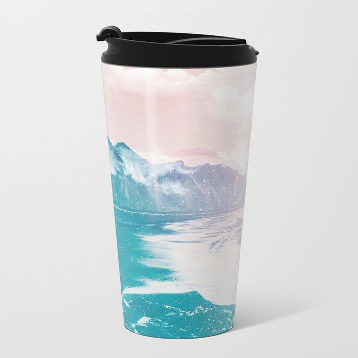 Fantasy Island Metal Travel Mug