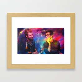 Rhett and Link Framed Art Print