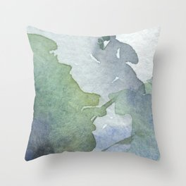 Colors#6 Throw Pillow