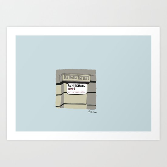 Whitehall Art Print