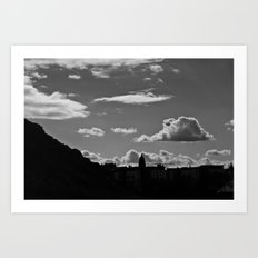 The Lonely Cloud Art Print