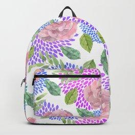 floral pattern vb Backpack
