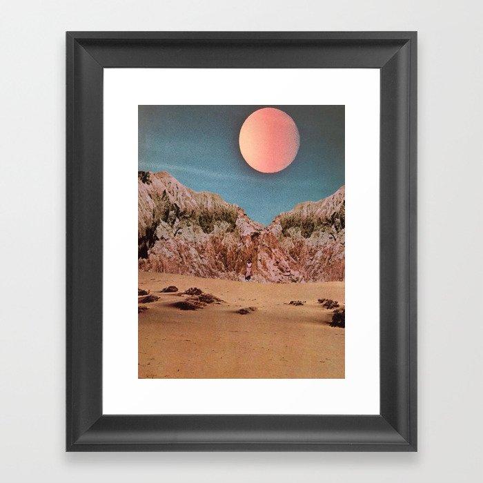 Castle Dune City Gerahmter Kunstdruck