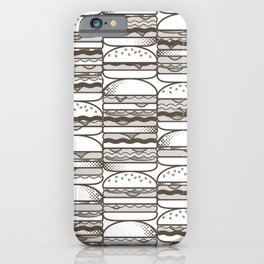 Burgers Wall iPhone Case