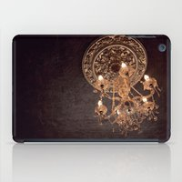 chandelier iPad Cases featuring chandelier by shannonblue