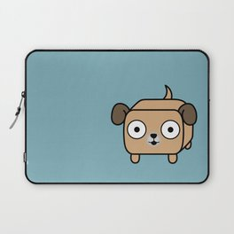 Pitbull Loaf - Fawn Pit Bull with Floppy Ears Laptop Sleeve