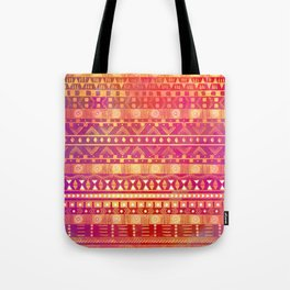 Inspired Aztec Pattern Tote Bag