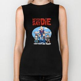 Never Say Die! Biker Tank