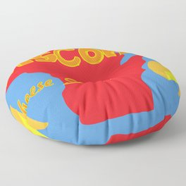 Cheese State Floor Pillow