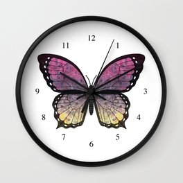 rose shadow veronica (Berenike rosa sceadwe) Wall Clock