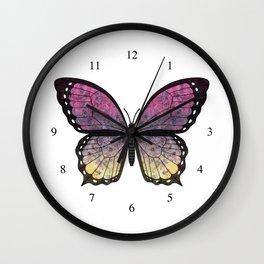 rose shadow veronica (Berenike rosa sceadwe) Wall Clock