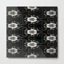 Concave Stature Pattern Metal Print