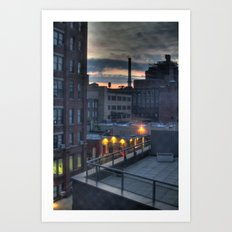 A Dumbo Sunrise Art Print
