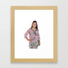 Colorful Cotton Kurtis Framed Art Print