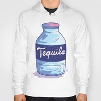 tequila Hoodies featuring Tequila by - OP -