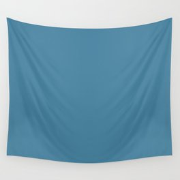 Steel Blue Wall Tapestry