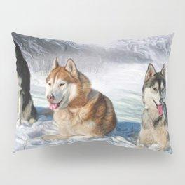 Alaskan Malamute Pillow Sham