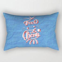 Feel the Bern! Rectangular Pillow